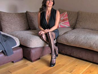 FakeAgent UK - Office sex and anal action for hot Chilean MILF