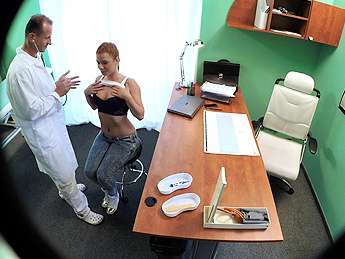 Fake Hospital - Gorgeous redhead prescribed cock by her doctor