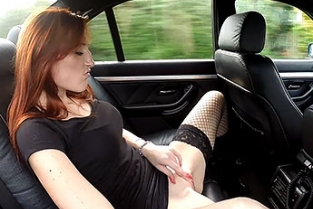 FakeCop - Sabrina Training day: Redhead hooker earns herself an unlawful bonus