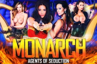 Digitalplayground - Monarch Amirah Adara & Ava Koxxx & Carmel Anderson & Christen Courtney