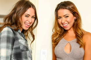 Almost Sisters Melissa Moore, Riley Reid, Keiran Lee