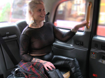 FakeTaxi - Tattooed lady loves dirty anal sex