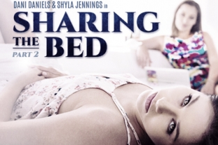 GirlsWay - Sharing The Bed: Part Two Dani Daniels, Shyla Jennings