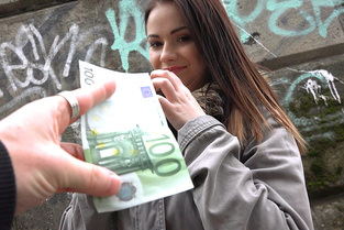 Euro Babe with Perky Tits Video & Nana - Public Pick Ups