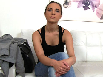 FakeAgent - Petite babe loves cock inside her
