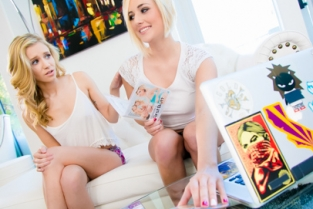 GirlsWay - Naughty Skippers Kate England, Rachel James