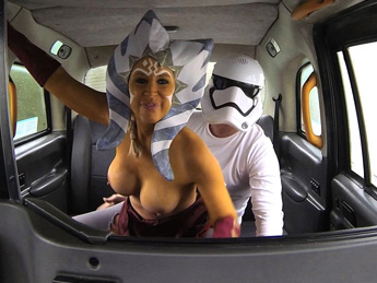 FakeTaxi - Star Whores the cock awakens