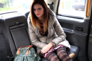 Fake Taxi - Cum hungry babe with stiff nipples