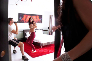 Babysitter's Private Striptease Lessons Video & Aidra Fox, India Summer - Busted Babysitters