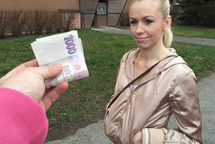 Public Agent - Married blonde takes cash for sex