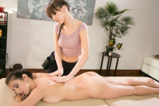 AllGirlMassage - My All Girl Massage Jenna Sativa, April ONeil