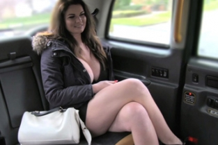 Fake Taxi - Big tits and sexy eyes takes cock