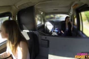 FemaleFakeTaxi - Ava And Madlin Hungarian Babe Gets Down And Dirty