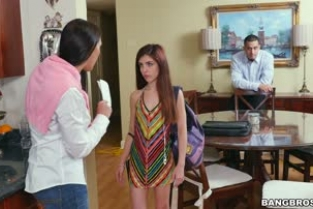 Rachel Starr - Flunking Step Daughter Gets A Golden Rachel Starr