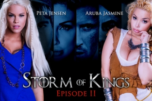 Storm Of Kings XXX Parody: Part 2 Aruba Jasmine, Rob Diesel