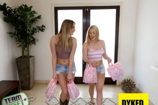 TeamSkeet - Dyked Jenna Ashley, Kenna James Theres A First Time For Everything