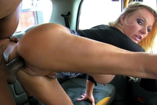 Female FakeTaxi - New Driver Loves a Big Black Cock