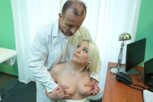 Fake Hospital - Doctor Helps Blonde Get a Wet Pussy