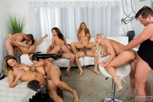 Wicked - Asa Akira, Jessica Drake, Katie Morgan, Luna Star, Teanna Trump The J.O.B.