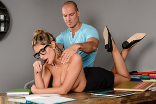 Study Buddies August Ames, Sean Lawless