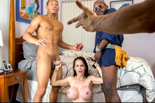 BlacksOnMoms - Mckenzie Lee Lonely Housewife Gets Stuffed With 2 Monster Cocks