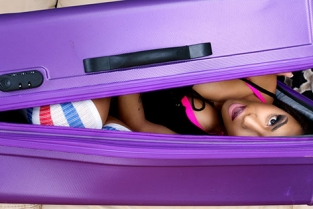 DigitalPlayground - Nicole Bexley Black Girl in a Suitcase