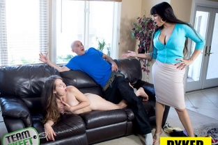 TeamSkeet - Mercedes Carrera, Zoey Laine Breaking And Entering Dyked