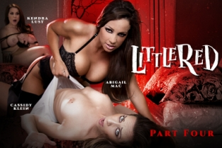 GirlsWay - Little Red: A Lesbian Fairy Tale: Part Four Abigail Mac, Kendra Lust, Cassidy Klein