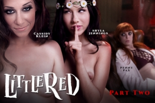 GirlsWay - Little Red: A Lesbian Fairy Tale: Part Two Shyla Jennings, Penny Pax, Cassidy Klein