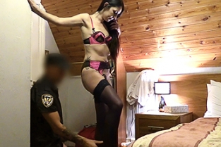 Fake Cop - Stranded in Spain and Fucked by Cop
