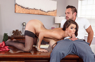 NaughtyAmerica - Peta Jensen & Johnny Castle in Naughty Office