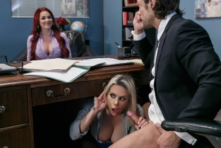 Hungry For A Job Rachel RoXXX, Skyla Novea, Jean Val Jean
