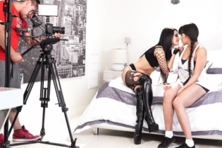 GirlsWay - Dr Jeckyll and Mrs Hyde: Part Two Mercedes Carrera, Abella Danger, Katrina Jade