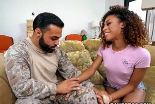 Bangbros - Kendall Woods Fucking For Our Troops Brown Bunnies