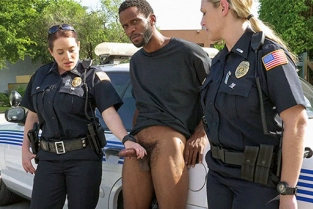 BlackPatrol - Maggie Green, Joslyn Publicly Disturbing That Pussy