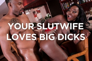 SheWillCheat - Osa Lovely Slutwife Osa Lovely pays her bar tab with pussy