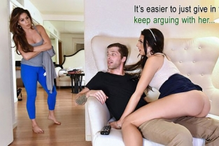 FamilyStrokes - Megan Sage Sharing Is Caring