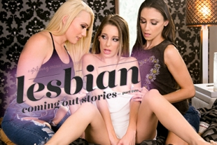 GirlsWay - Lesbian Coming Out Stories: Part Two Celeste Star, AJ Applegate, Kimmy Granger