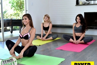 TeamSkeet - Arya Fae, Nina North, Megan Sage Knowing The Right Positions Dyked