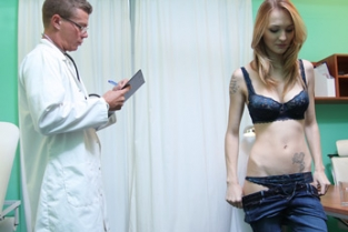 Fake Hospital - Hot Czech patient craves hard cock Belle Claire