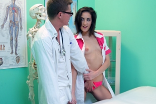 Fake Hospital - Minx sucks and fucks to get a job