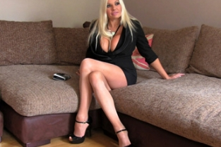 Fake Agent UK - Blonde with big tits gets tied up