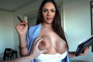 Big Tit Latina Blows Client & Marta LaCroft - Latina Sex Tapes