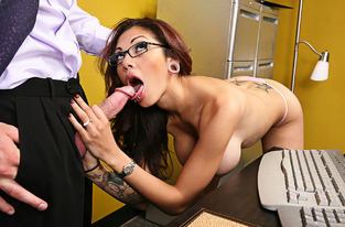 NaughtyAmerica - Adrenalynn & Charles Dera in Naughty Office