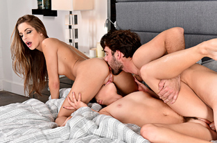 NaughtyAmerica - Hope Howell & Kimmy Granger & Logan Pierce in 2 Chicks Same Time
