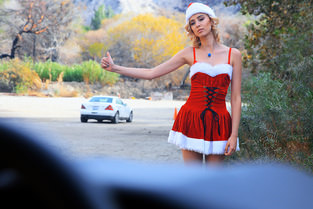 Haley the Horny Christmas Hitchhiker & Haley Reed - Stranded Teens