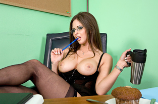 NaughtyAmerica - Rachel Roxxx & Charles Dera in Naughty Office
