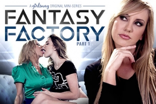 GirlsWay - Kenna James, Alexis Fawx, Brett Rossi Fantasy Factory 1: Parent Teacher Orientation