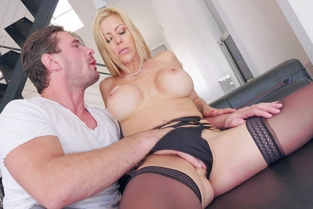 BangGonzo - Alexis Fawx Busty Blonde Alexis Fawx In Unscripted Fuck