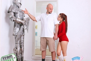 TeamSkeet - Brooke Haze Chivalry For A Small Chick ExxxtraSmall
